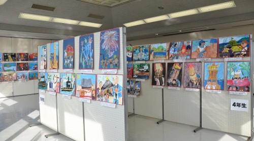 鞆小絵画展1